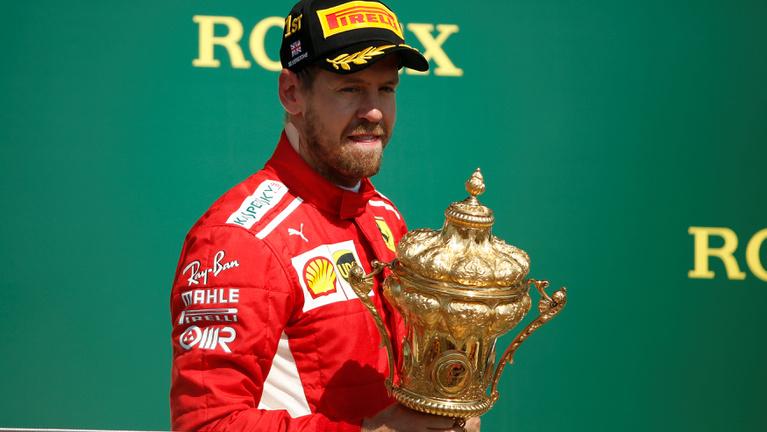Vettelé az év versenye, a Brit GP
