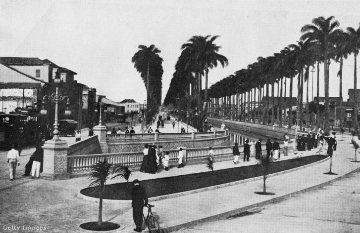 Avenida Do Mangue, Rio de Janeiro, 1910.