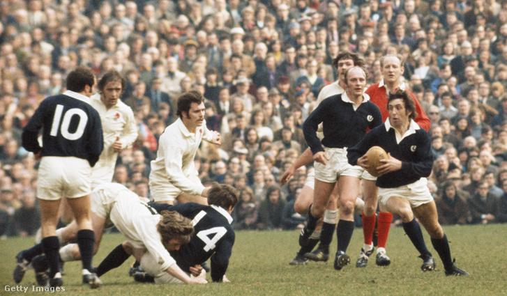 Rögbi mérkőzés Londonban 1973-ban