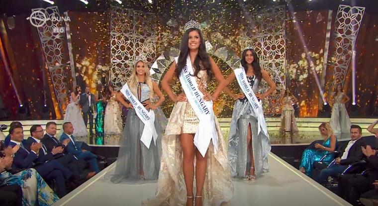 Most pedig ő fogja képviselni Magyarországot a kínai világversenyen.A Miss Bikinin egyébként úgy nyugtatta a többieket (és ez akár lehetne az ars poetikája is), hogyCsak magabiztosan, és mosolyogjunk