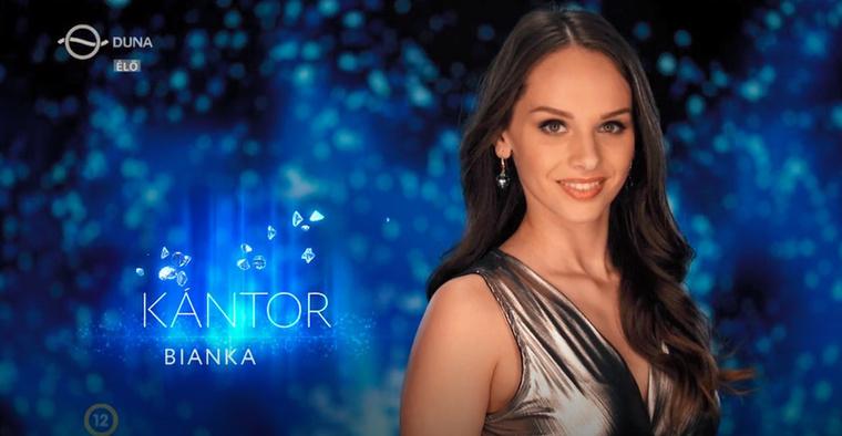 Kántor Bianka életének álma, hogy műsorvezető legyen