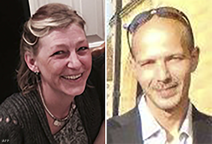 Dawn Sturgess és Charles Rowley