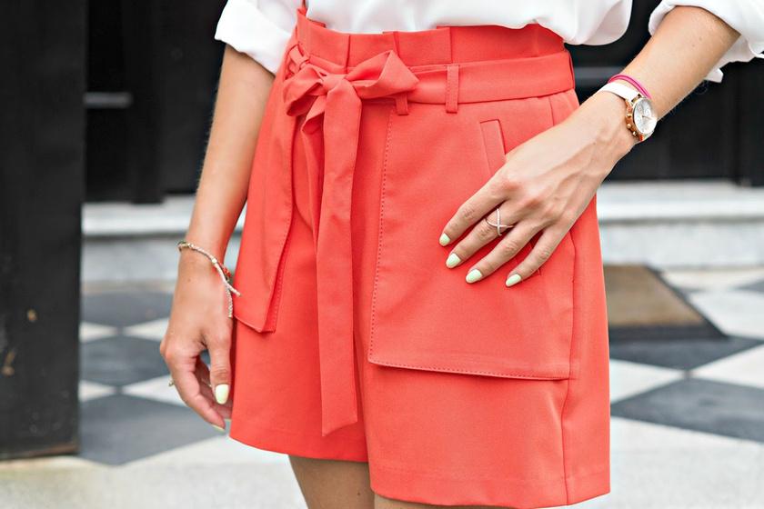10 divatos, nőies rövidnadrág nyárra 6 ezer forint alatt - Nyújtják a lábakat, és karcsúbbnak mutatnak