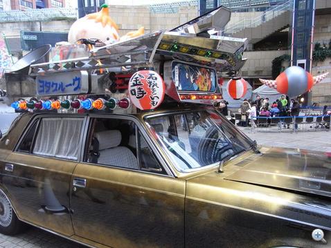 Toyota Century-ből is lehet yakimo-árudát készíteni. De nem célszerű