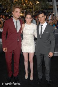 Robert Pattinson, Kristen Stewart és Taylor Lautner