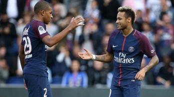 Neymar rászállt Mbappéra?