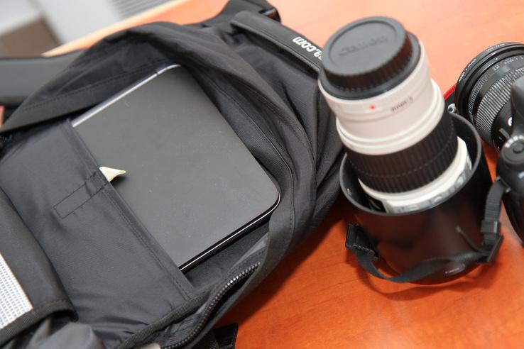 A laptopzsebbe lehet protektort is tenni, de minek