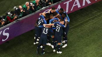 Franciaország-Belgium 1-0, döntőben a franciák