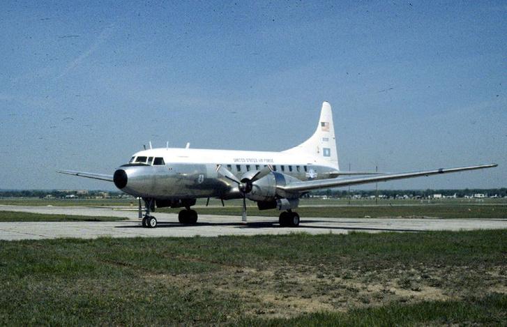 Convair C-131D Samaritan USAF