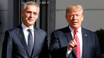 Trump kiakadt a németekre a NATO-csúcs előtt