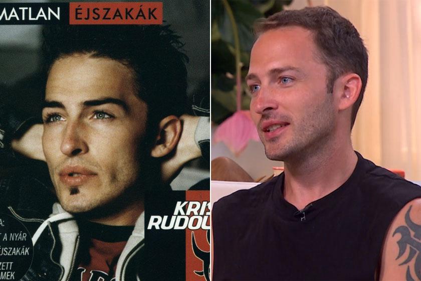 Krisz Rudi nem sokat változott: bal oldali fotó 2002-ből, a mellette levő 2018-ból való.
