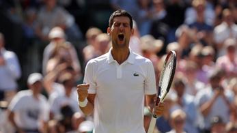 Djokovics két év után újra elődöntős egy Grand Slamen