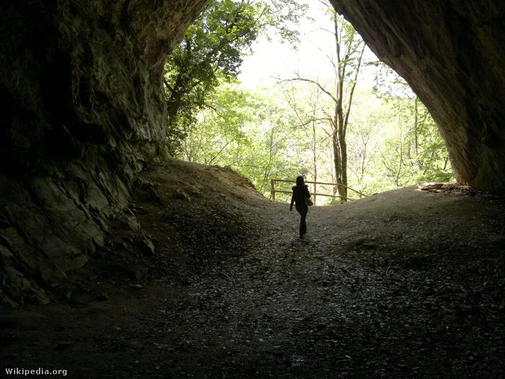 Az Istállós-kői barlang bejárata