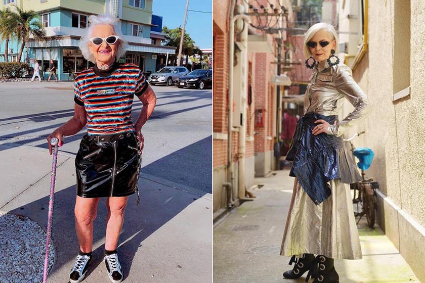 Az Instagram legstílusosabb 60 év feletti női: szétlájkolják a fotóikat