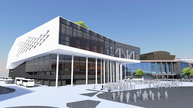 Aquapark és kaszinó is épült volna a Nemzeti Színház mellé