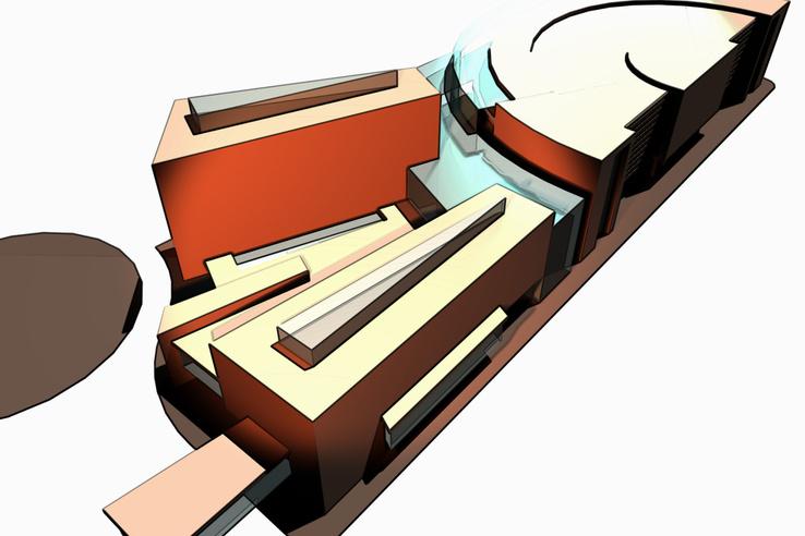 A Főépület terve