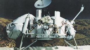 A NASA négy évtizede éve véletlenül megsemmisíthette a marsi élet nyomait