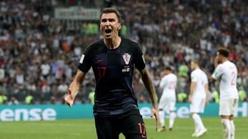 Egy nagyon szláv pillanat Mandzukic győztes gólja előtt
