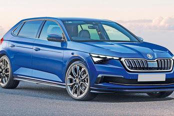 Golf-rivális lesz a Škoda Rapidból