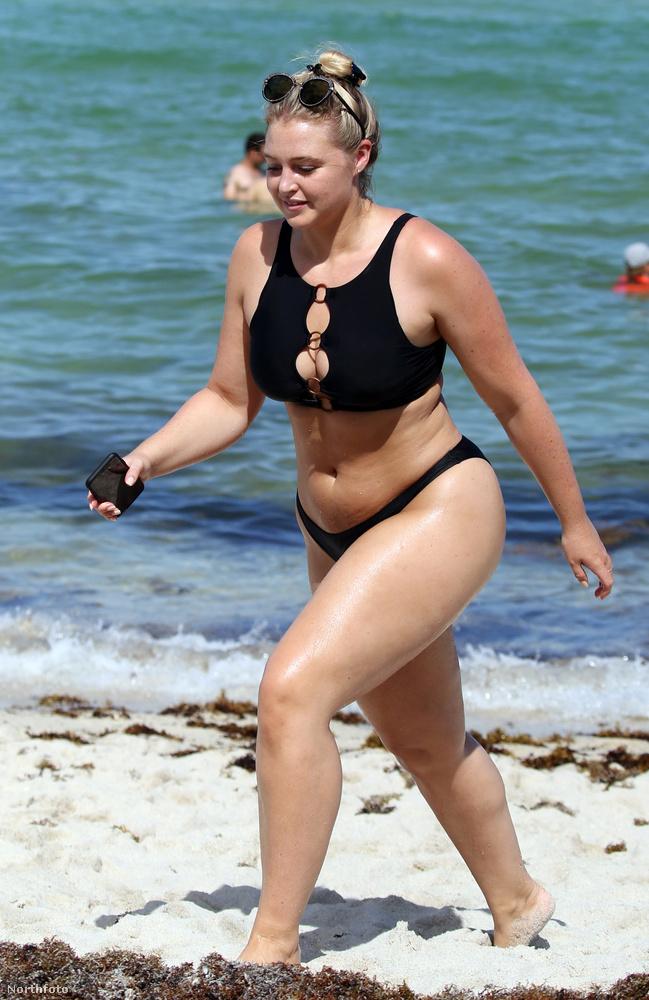 Ő nem plus, hanem csak egy nő a sokféle méretű csinos nő közül, aki történetesen modellként dolgozik.