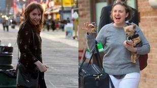Lena Dunham örül, hogy feljött rá 11 kiló