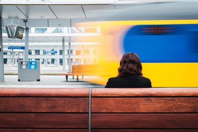 metró tömegközlekedés várakozás