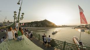Eljött az idei első olyan hétvége, amikor lezárják a Szabadság hidat a gyalogosok kedvéért