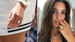 Jegygyűrű-párbaj: Emily Ratajkowskiétől vagy Hailey Baldwinétől ájult el jobban?