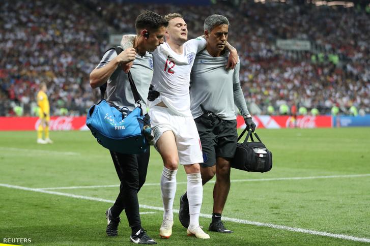 Kieran Trippier a horvátok elleni meccsen sérült meg