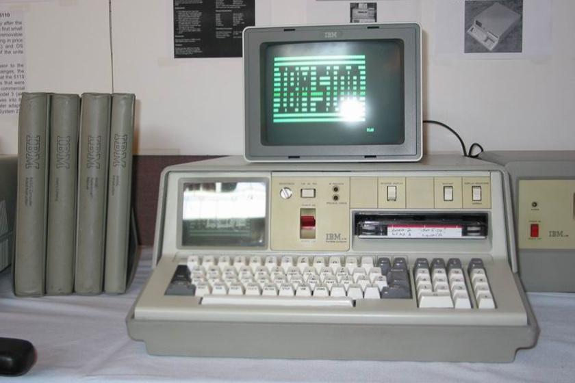 Egy IBM 5100-as számítógép 1975-ből.