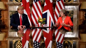 Trump: May inkább legyen a barátom, mint az ellenségem
