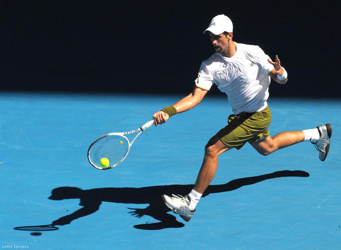 Djokovics az ausztrálok pályáján