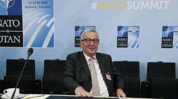EB: Betegség miatt botladozott Juncker