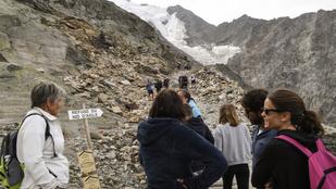 Felkészületlen turisták teszik tönkre a Mont Blanc-t