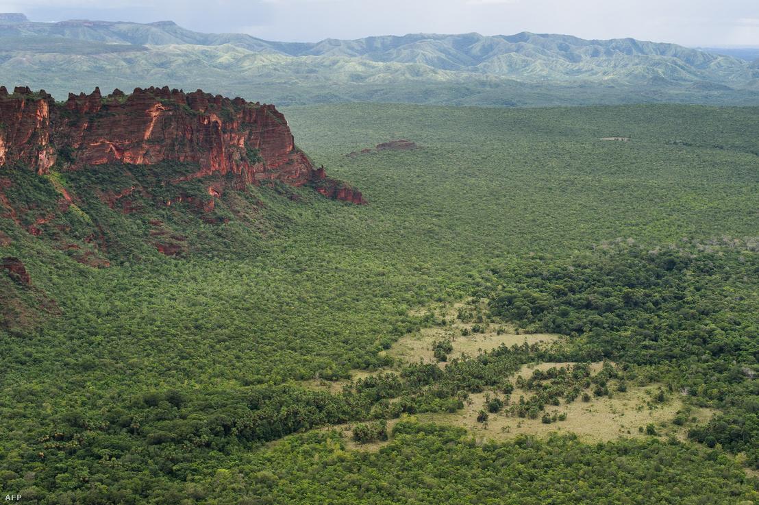 A gyönyörű Cerrado madártávlatból