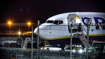 Kényszerleszállást hajtott végre egy Ryanair-gép Frankfurtban