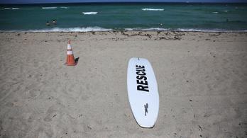 Floridai strandok - cápatámadás miatt zárva!
