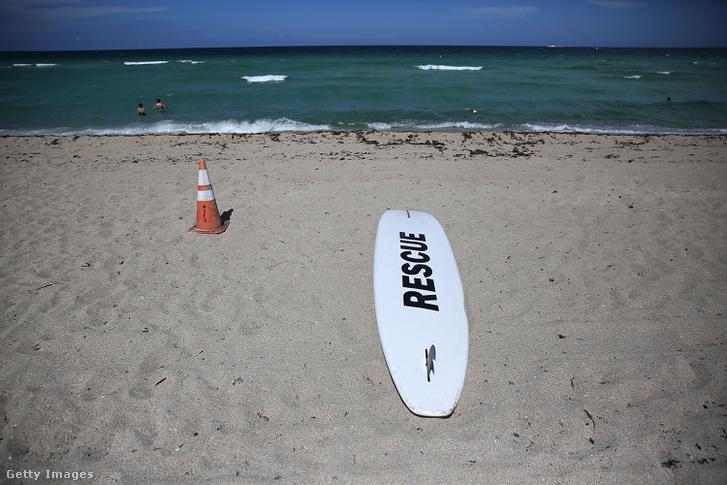 Nem tanácsos most fürdeni a Fernandina strandon