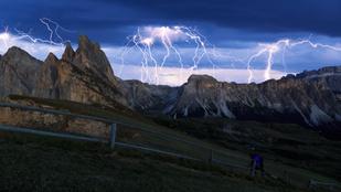 Mit tennél a hegy tetején, ha kitörne a vihar?