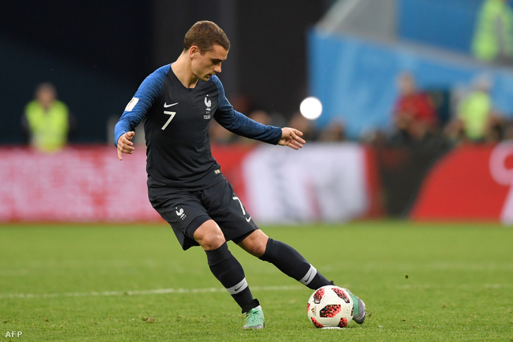Antoine Griezmann a Franciaország-Belgium mérkőzésen
