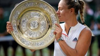 Kerber simán verte Serena Williamset, háromszoros GS-bajnok