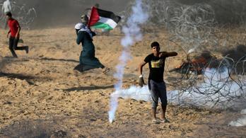 Háborús hangulat tombol a Gázai övezetnél