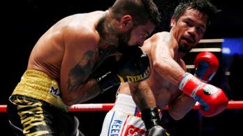 Pacquiao kilenc év után nyert újra KO-val