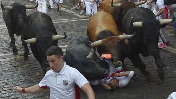 Idén 28 embert löktek fel, szúrtak meg, tapostak le a bikafuttatáson