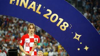 Vesztes vb-döntő után aranylabdás Modric, mint Messi négy éve