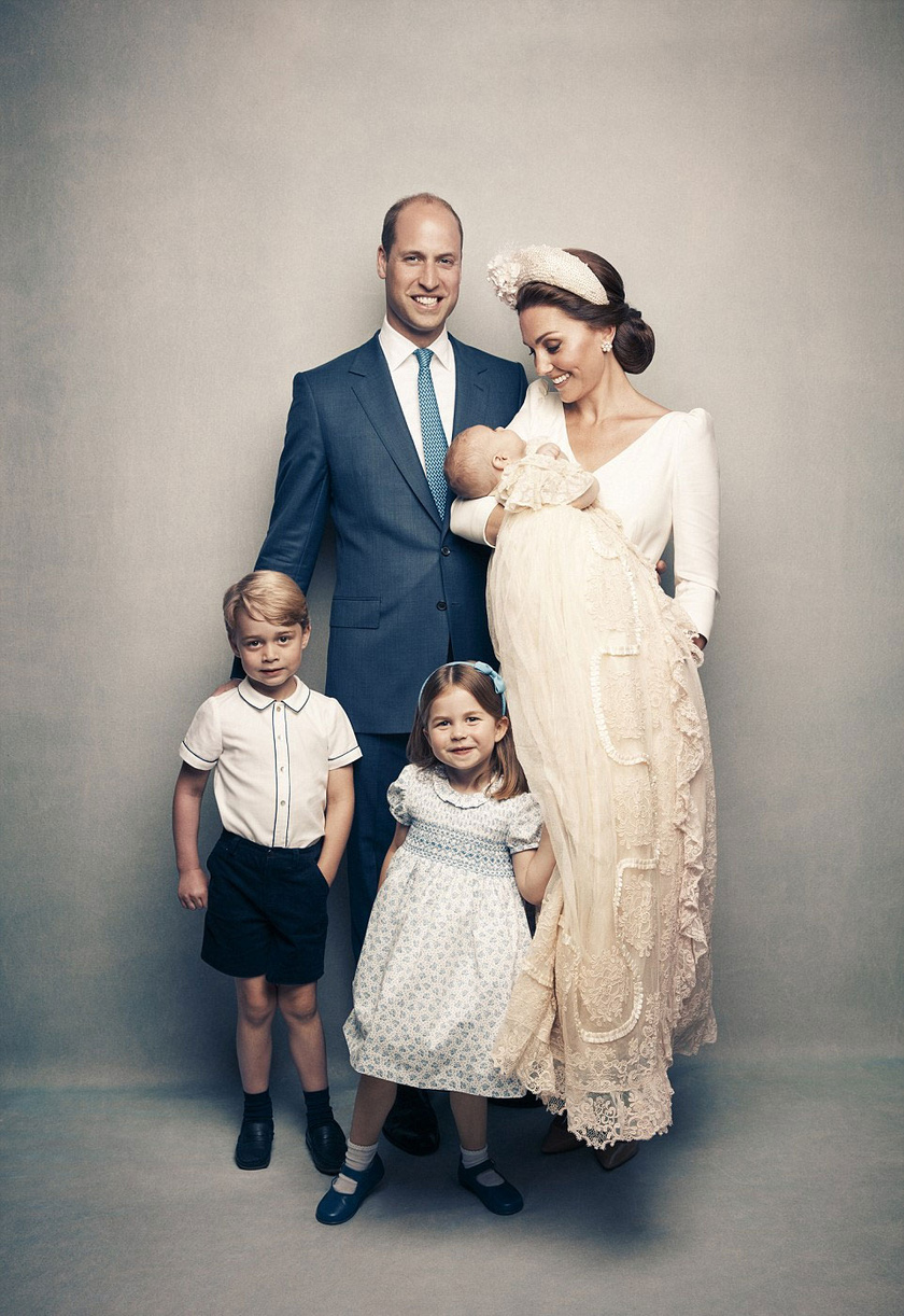 Vilmos herceg mosolya okkal ilyen büszke: gyönyörű családja van.