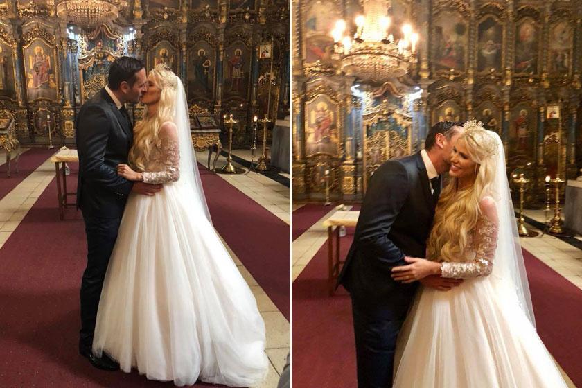 Vasvári Vivien és Fecsó Budapesten, egy ortodox székesegyházban tartotta templomi esküvőjét, ami mindenki számára nyilvános volt.