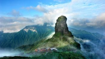 Naponta csak 23 480 turistát fogad be a Fancsingsan-hegyvidék