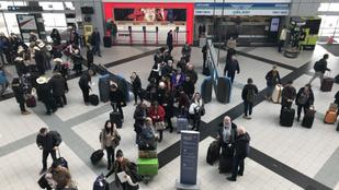Zavartan viselkedő férfi miatt ürítették ki az egyik ferihegyi terminált