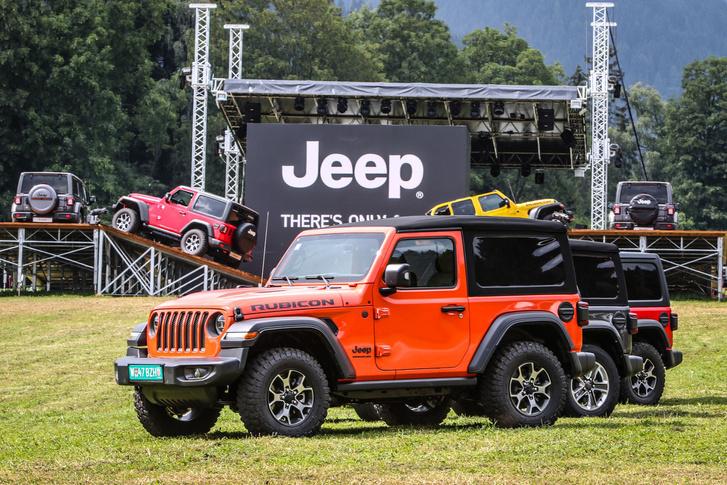 A bemutatót a Jeep rajongók legnagyobb európai jamboree-ja előtt tartották